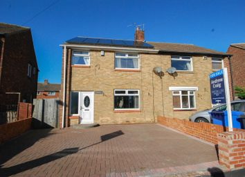 Thumbnail 3 bed semi-detached house for sale in Tennyson Avenue, Boldon Colliery