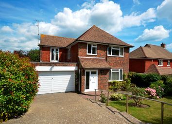 Thumbnail 4 bed detached house for sale in Upper Ratton Drive, Eastbourne