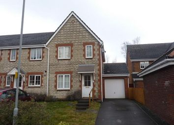 Thumbnail 3 bed semi-detached house to rent in Ffordd Ger Y Llyn, Penllergaer