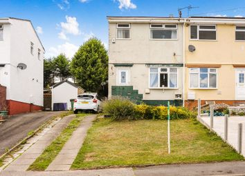 Thumbnail 2 bed semi-detached house for sale in Meadow Rise, Brynna, Pontyclun