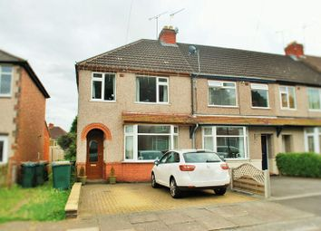 Thumbnail 3 bedroom end terrace house for sale in Limbrick Avenue, Tile Hill, Coventry