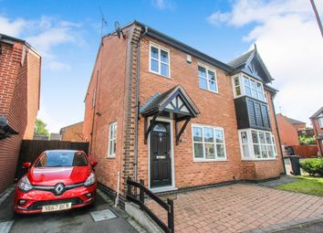 Thumbnail 3 bed semi-detached house for sale in Sandhurst Close, Leicester