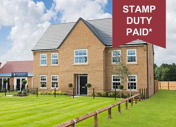 "Thumbnail 5 bed detached house for sale in ""Glidewell"" at Welland Close, Burton-On-Trent"