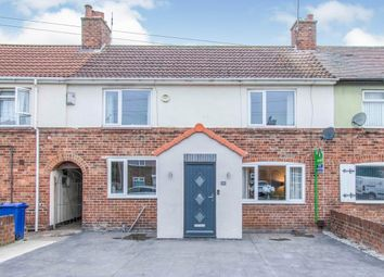 Thumbnail 3 bed terraced house to rent in Allenby Crescent, New Rossington, Doncaster