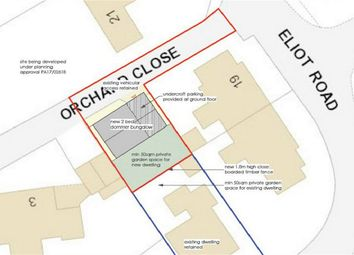 Land for sale in Orchard Close, St Austell, Cornwall PL25
