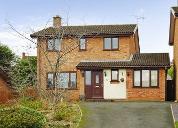 Thumbnail 4 bed detached house for sale in Ludford Drive, Stirchley, Telford