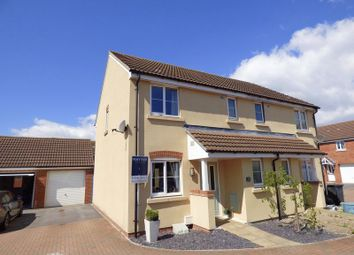 Thumbnail 3 bedroom semi-detached house for sale in Turnock Gardens, West Wick, Weston-Super-Mare