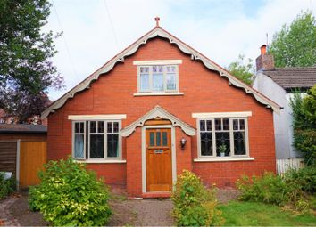 Thumbnail 4 bed detached house for sale in Bramhall Moor Lane, Stockport