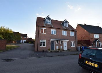 Thumbnail 3 bed semi-detached house for sale in Birch Spinney, Mawsley, Kettering