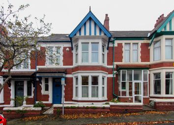 Thumbnail 4 bedroom terraced house to rent in Harrismith Road, Roath, Cardiff