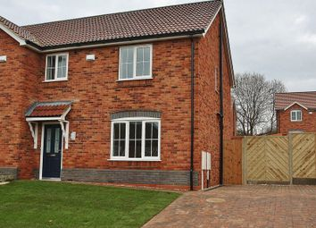 Thumbnail 3 bed semi-detached house for sale in Hopfield, Hibaldstow, Brigg