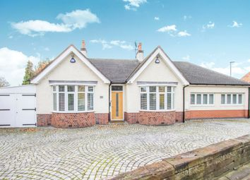 Thumbnail 4 bedroom detached bungalow for sale in Forest Road, Narborough, Leicester