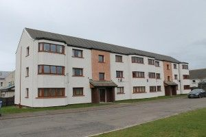 Thumbnail 2 bed flat to rent in North Murchison Street, Wick