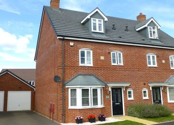 Thumbnail 4 bed semi-detached house for sale in Snaffle Way, Evesham