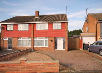 Thumbnail 3 bed semi-detached house for sale in Cheviot Close, Putnoe