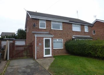 Thumbnail 3 bed semi-detached house for sale in Alder Close, Bradwell, Great Yarmouth