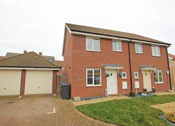 Thumbnail 3 bed semi-detached house for sale in Rosehip Avenue, Red Lodge