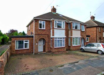 Thumbnail 4 bedroom semi-detached house for sale in Elfleda Road, Cambridge