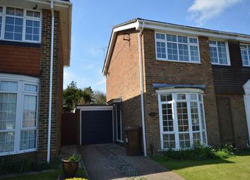 Thumbnail 3 bed semi-detached house to rent in St. Johns Way, Rochester