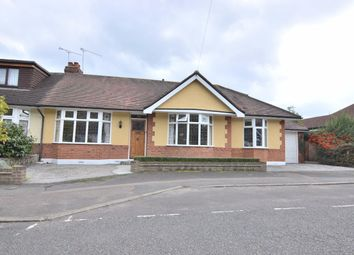 Thumbnail 4 bed semi-detached bungalow for sale in Howard Road, Upminster