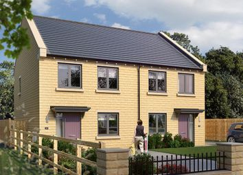 "Thumbnail 3 bed semi-detached house for sale in ""The Kilmington"" at Wharfedale Avenue, Menston, Ilkley"