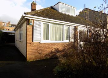 Thumbnail 3 bed bungalow to rent in Park Road, Salford