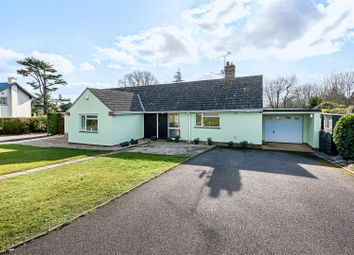 Thumbnail 4 bed detached bungalow for sale in Quantock Rise, Kingston St. Mary, Taunton