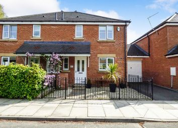 Thumbnail 3 bed semi-detached house for sale in Nursery Mews, Morpeth