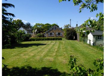 Thumbnail 3 bed detached bungalow for sale in School Road, Norwich