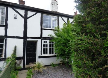 Thumbnail 2 bedroom cottage to rent in London Road South, Poynton, Stockport