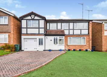 Thumbnail 6 bed detached house for sale in De Montfort Way, Coventry
