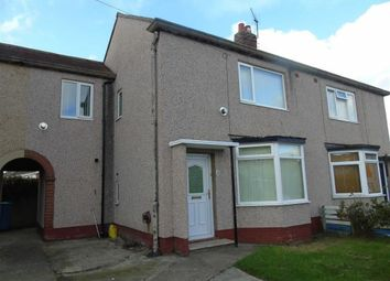 Thumbnail 3 bed semi-detached house for sale in Henafon Road, Rhyl