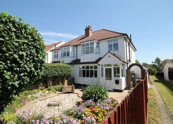 Thumbnail 3 bed semi-detached house for sale in Kingsley Avenue, Sutton, Surrey