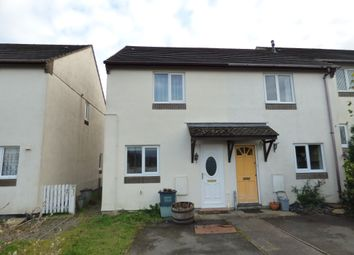 Thumbnail 2 bed semi-detached house for sale in White Tor Close, Okehampton