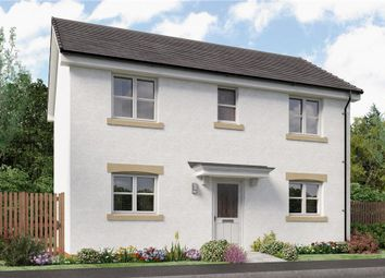 "Thumbnail 3 bedroom detached house for sale in ""Darwin"" at Broomhouse Crescent, Uddingston, Glasgow"