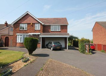 Thumbnail 5 bed detached house for sale in Leicester Road, Hinckley