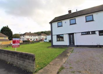 Thumbnail 3 bed semi-detached house for sale in Heol Trelai, Ely, Cardiff