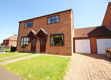 Thumbnail 2 bed semi-detached house for sale in Maple Drive, Bassingham, Lincoln