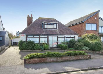 Marine Parade, Tankerton, Whitstable CT5. 3 bed detached bungalow for sale