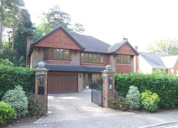 Thumbnail 5 bed detached house to rent in Cross Road, Sunningdale, Berkshire