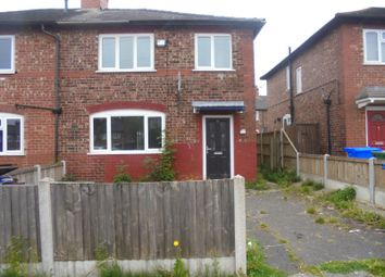 Thumbnail 3 bed semi-detached house to rent in Gorton, Manchester