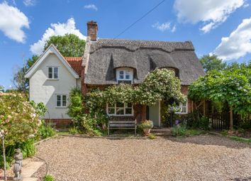 Thumbnail 4 bed cottage for sale in Welbeck Road, Bergh Apton, Norwich