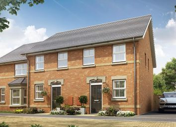 "Thumbnail 2 bedroom terraced house for sale in ""Tiverton"" at Pedersen Way, Northstowe, Cambridge"