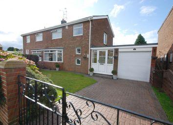 Thumbnail 3 bed semi-detached house for sale in Wardley Drive, Wardley, Gateshead