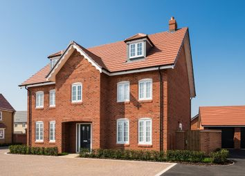 "Thumbnail 5 bed detached house for sale in ""Lichfield"" at Alwin Court, Great Denham, Bedford"