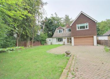 Thumbnail 4 bed detached house to rent in Cullesden Road, Kenley