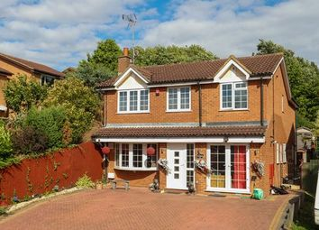 Thumbnail 4 bed detached house for sale in Lichfield Drive, East Hunsbury, Northampton