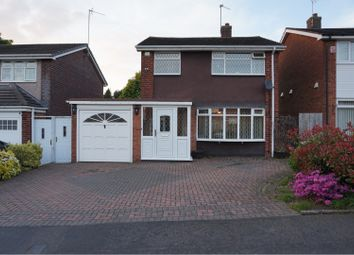 Thumbnail 3 bed detached house for sale in Arran Close, Great Barr, Birmingham