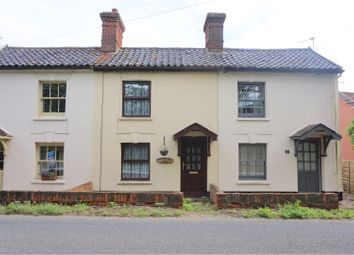 Thumbnail 2 bedroom terraced house for sale in Chickering Hall Cottages, Diss