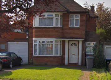 Thumbnail 3 bed detached house to rent in Beverley Drive, Edgware, London